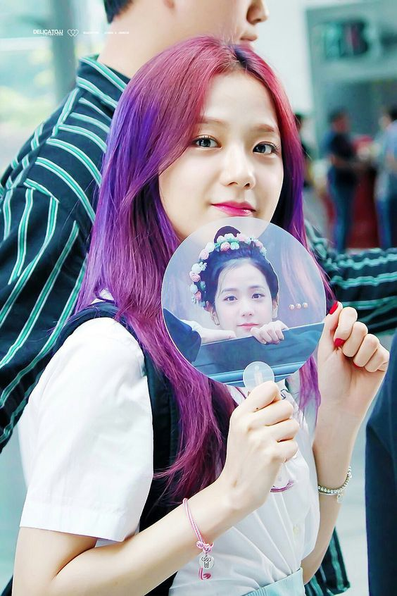 Jisoo Rainbow Hairstyles