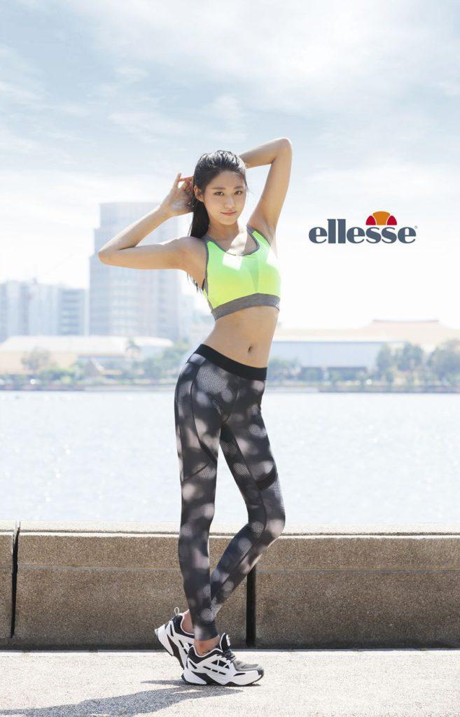 Seolhyun Ellesse sport model