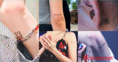 7 Minimalist And Impressive Kpop Idols Tattoos Kpoppost