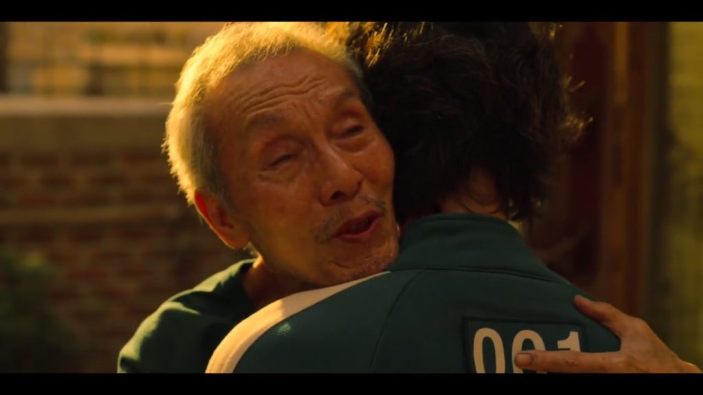 Oh Young-soo as Oh Il-nam in 'Squid Game'
